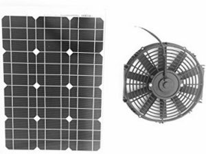 Amtrak Solar 35 Watt Solar Attic Fan, 25 years warranty, Most powerful fan motor